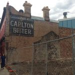 The Gasometer Hotel Ghost Sign