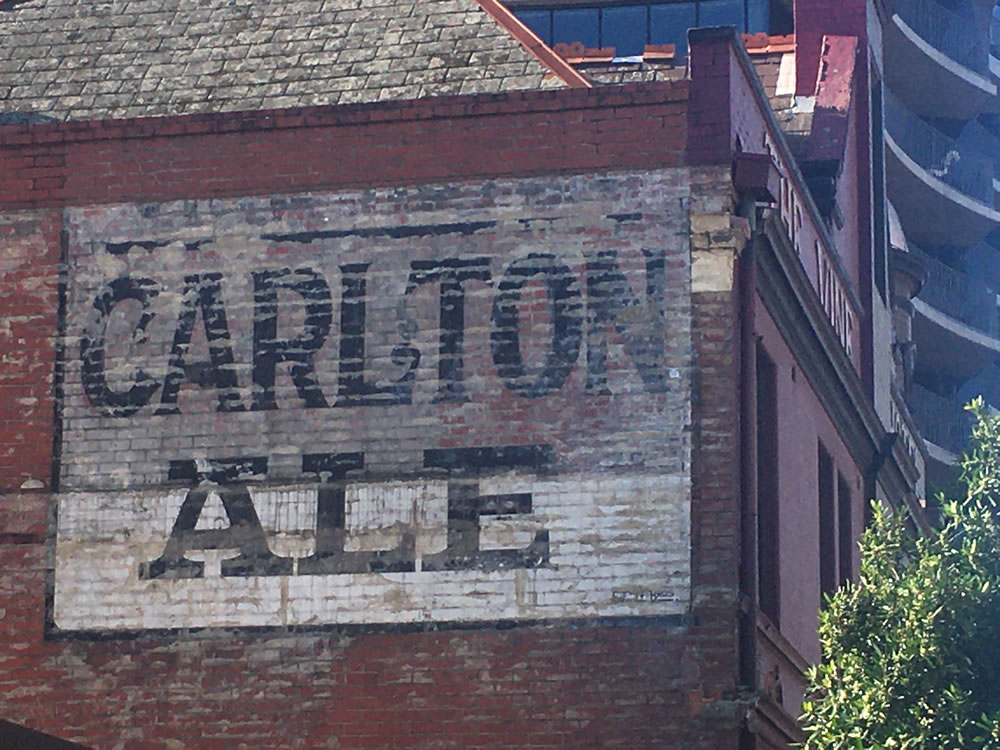 Carlton Ale Sign