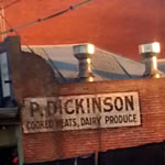 P. Dickinson | Thornbury Ghost Sign