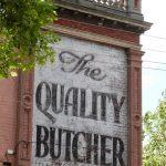 Kensington Butcher Sign
