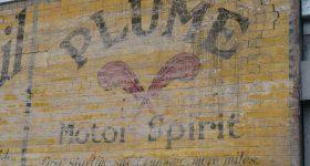 Plume Motor Spirit Sign – Adelaide