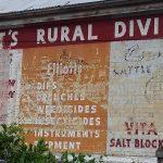 Erratt's Rural Division Sign: Walcha