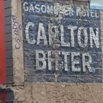 Fitzroy Carlton Bitter Sign